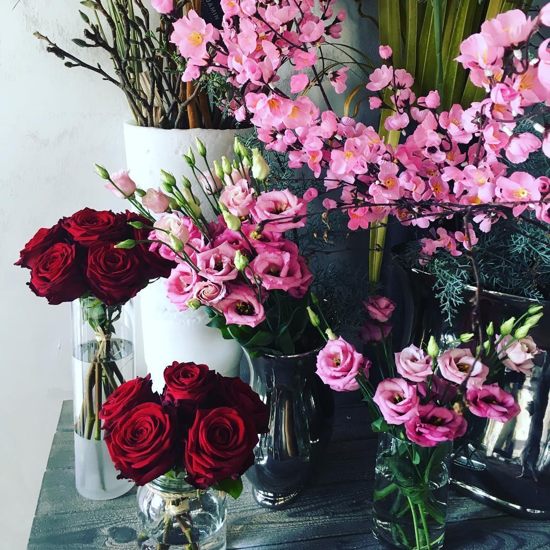 Composition à l'occasion de la Saint-Valentin - Benjamin Créateur Floral