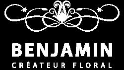 Logo blanc - Benjamin Créateur Floral